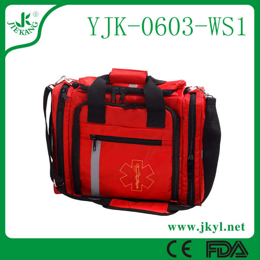 YJK-0603-WS1 High quality medical oxford material outdoor activity first aid bag