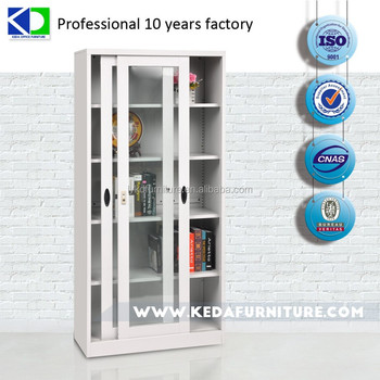 High-quality reasonable sliding door file cabinet steel cabinet