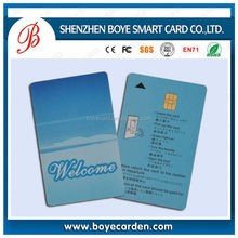 healthcare AT24C64/SLE5528 smart card sharing for Hotel lock/Payment/Identification