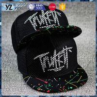 Factory sale novel design two tone basketball snapback hat 2015