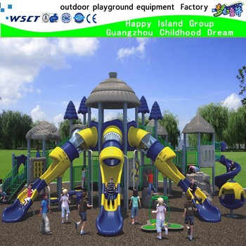 children outdoor playground equipment of Ancient Tribe Series