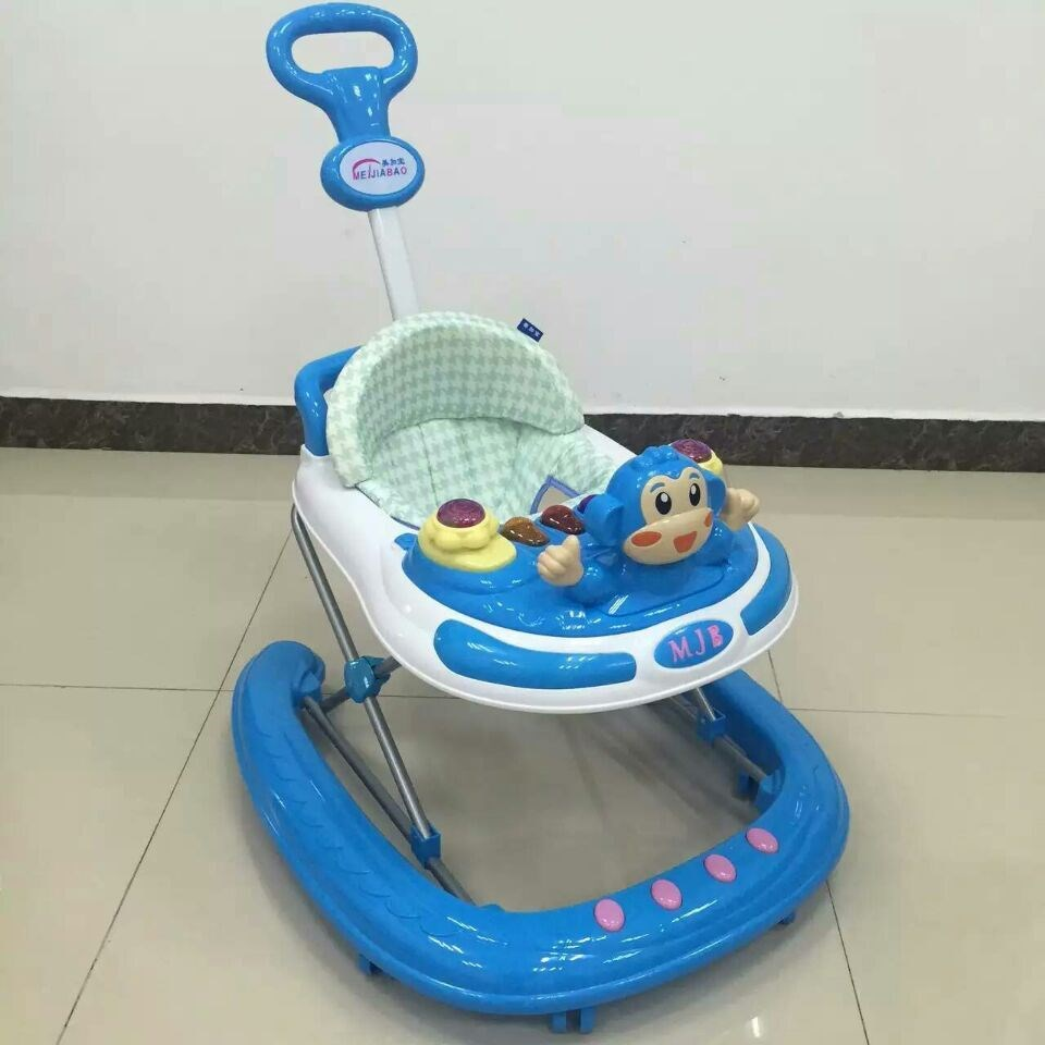 2016 innovation andador de bebe china,baby walker ride on toys baby product cheap walkers with cotton fresh seat for babies