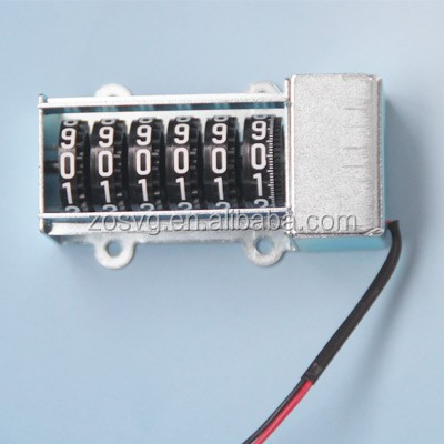 electromagnetic counter for kwh energy electricity meter mechanical stepper motor counter register VG200MX51