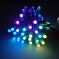 Outdoor IP68 rated pixel led light string 12mm UCS1903 DC12V round smart full color