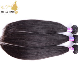 Fast and safe shipping 100% real human hair extensions wholesale 8a grade remy straight unprocessed virgin malaysian hair