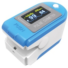 CE and FDA approved Finger Pulse Oximeter with Free Software