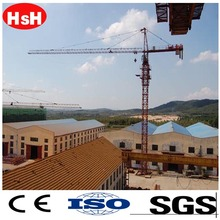 Tower Crane Price QTP125 6015 12T self erecting spider crane
