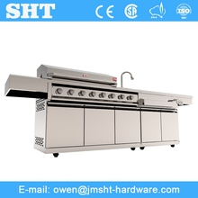 Alibaba Factory Good Service Stainless Metal Stainless Bbq Grill Stand