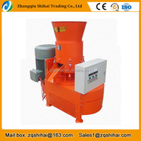 CE approved cheap wood pellet mill machine with flat die