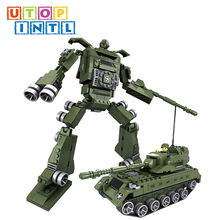 hot new products self assembled robot blocks china import toys for sale