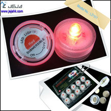 Wholesale Color Changing Plastic Floating Led Candle Light, Led Flameless Tealight Candle