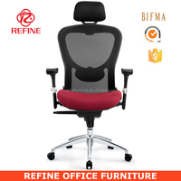 beautiful high back ergonomic adjustable office chairs china can load heavy people RF-M039B