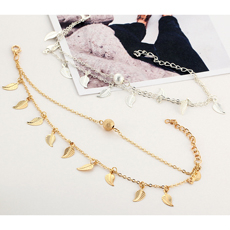Simple 짠 동물 Anklet Cute 거북이 Personal 합금 Anklet