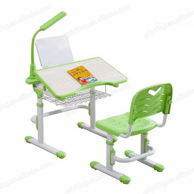 Discount cheap small adjustable plastic kids study desk