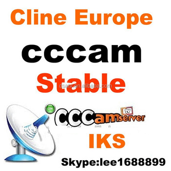 1pcs wholesale iks cccam cline account server for Europe channels experience a free trial for one day
