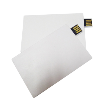 Free sample,Bulk item business card Usb flash drive blank white credit card USB,Paypal/Escrow