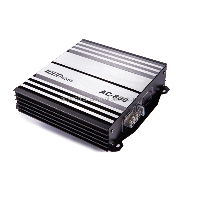 China professional 12V car power amplifier