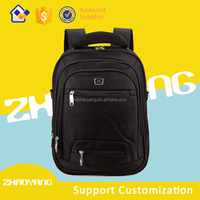 Wholesale fashion custom women high school leather laptop bag backpack