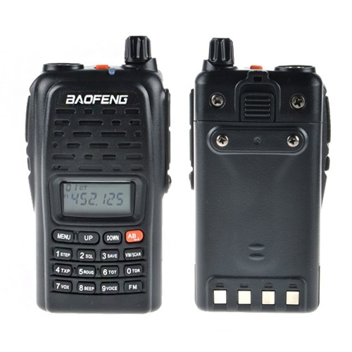 Baofeng dual band wireless walkie talkie BF-V85 with long term business