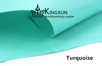 Turquoise Color Hot Sale Non - Woven Fabric For Wedding Carpet