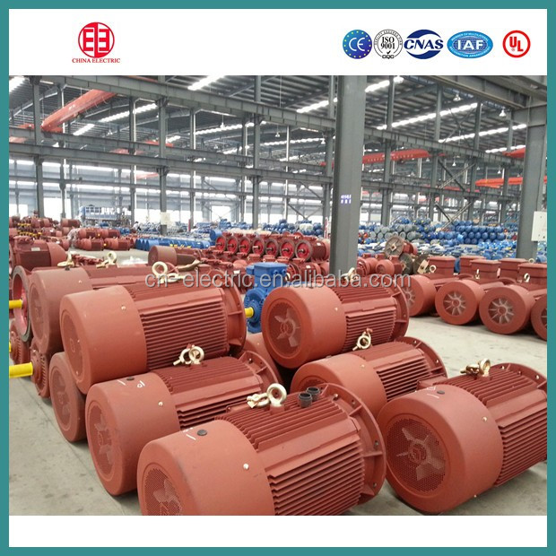 Y2 series high voltage asynchronous ac motor 6kw manufacturer