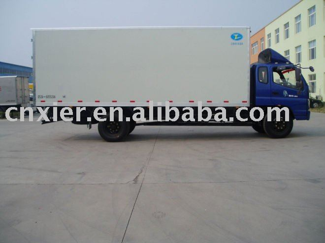 ZZT5153XBW INSULATED VAN TRUCK VEHICLE