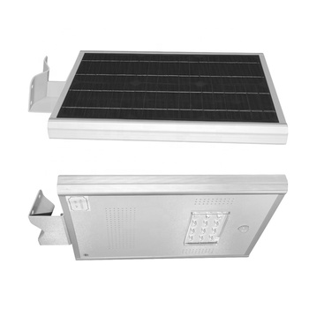 Pir motion sensor solar power 10w street light
