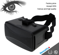 Mobile Theatre virtual screen vedio glasses, 3d virtual reality google headset