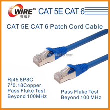 Patch Cord Camera Cable UTP / FTP / SFTP Cat6 Cable LAN CABLE
