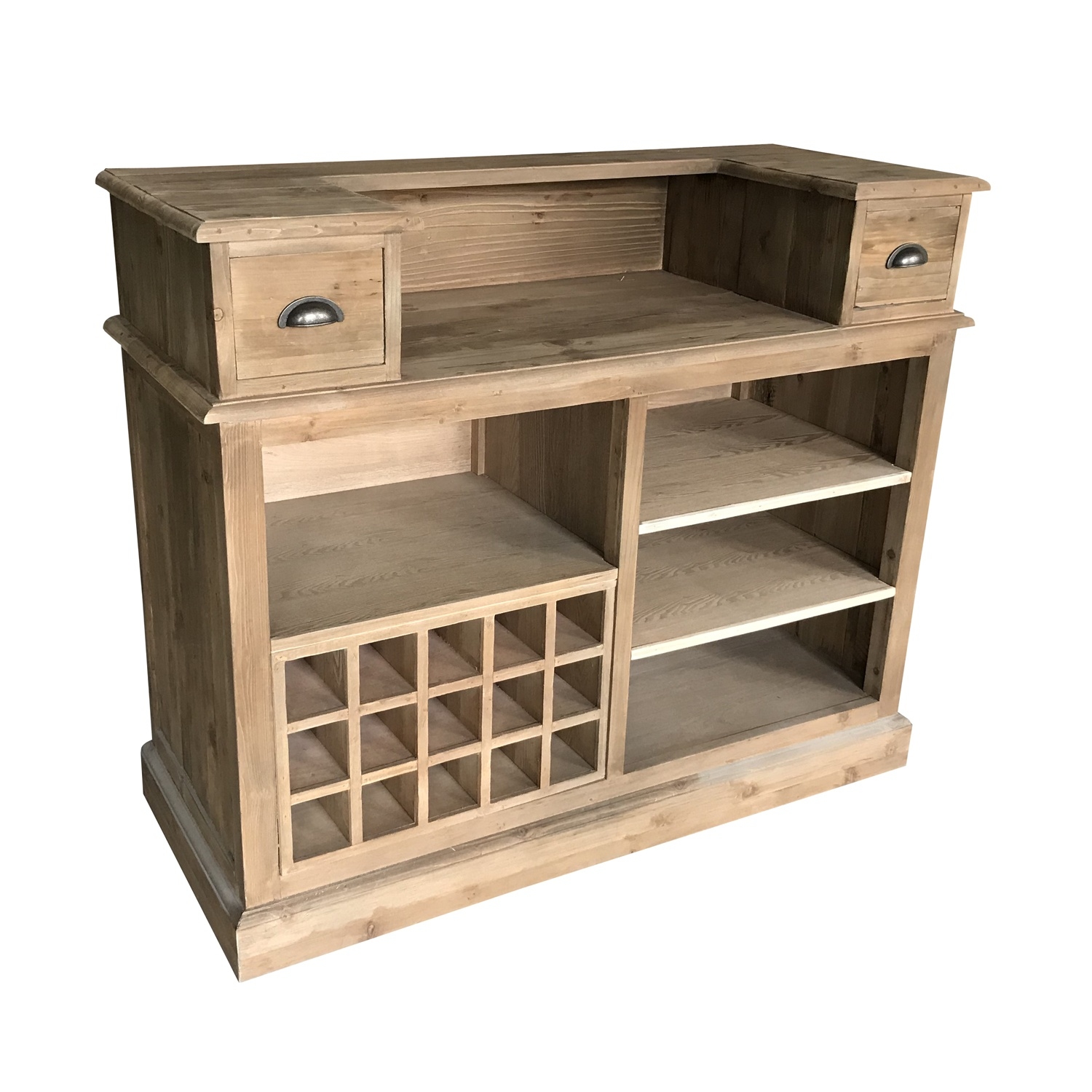 New <strong>design</strong> European <strong>style</strong> reclaimed fir wood <strong>antique</strong> home wooden wine cabinet