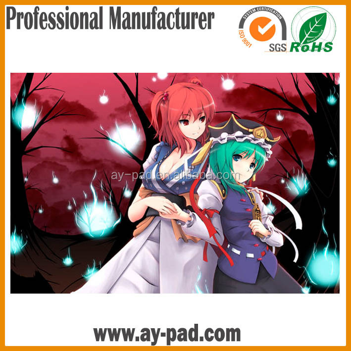AY Custom Sublimation Gaming Picture Rubber Mouse pad Wholesale Multifuction Table Gaming Mat
