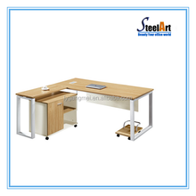 Latest design office wooden computer table pictures and price