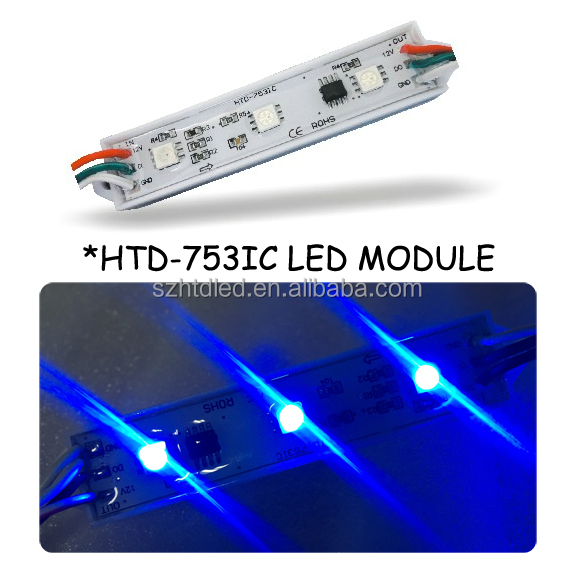 addressable led module digital rgb led pixels For supermarket Lighting ws2812/1903 rgb 5050