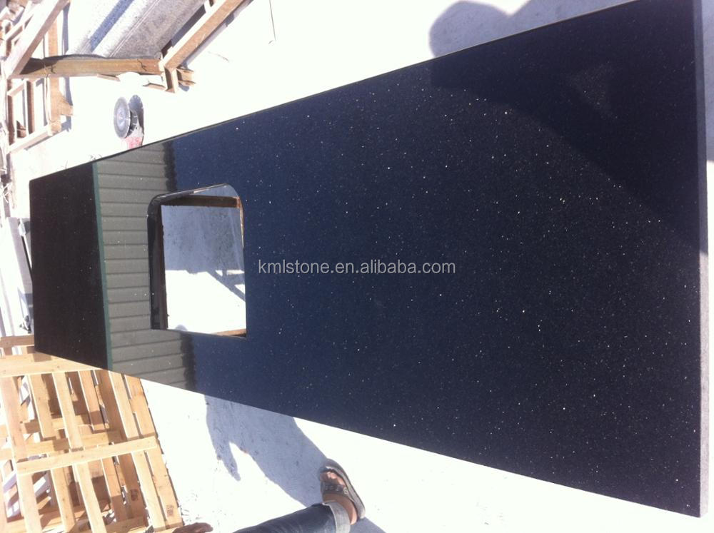 Black Granite Bathroom Countertops
