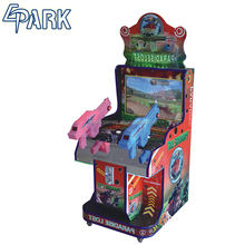 Kids coin operated Lost Paradise shooting arcade game machine