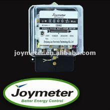 DD862 single phase transparent cover direct connect mechanical electric/energy/power meter