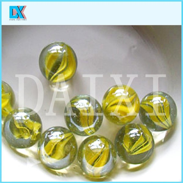 Round toy glass marble ball