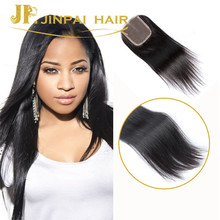 JP Wholesale Brazilian Human Hair Silk Base Lace Closure with Baby Hair