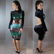Latest hot hot girl sxe picture women sexy club bodycon dress