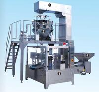 Multi-Function automatic onion pouch bag making packing machine with Multihead Weigher