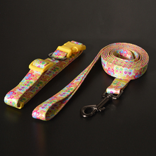 Custom Heavy Duty Nylon Soft Handles Double Hands-Free Dog Leash