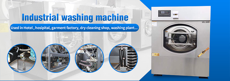 China new products Full-automatic industrial washing Machine , 30kg washer extractor