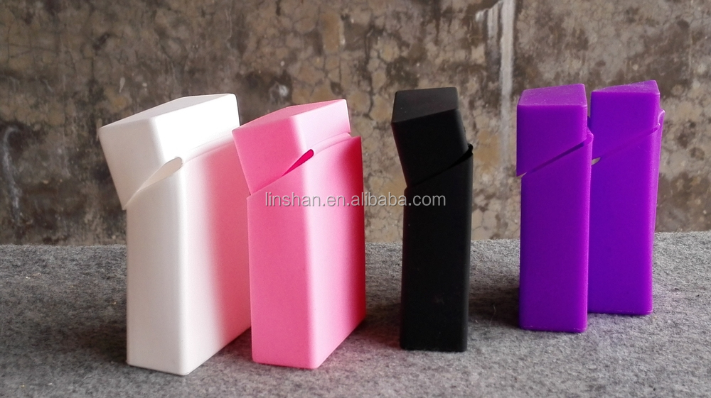 silicone cigaretter case/cigarette cover/cigarette box with different printing designs