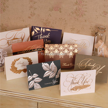 Hot stamping embossed Artificial paper card greeting paper crafts