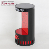 Countertop Customized Black And Red Acrylic