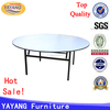Shunde wholesale wedding round dining table with rotating centre for restaurant
