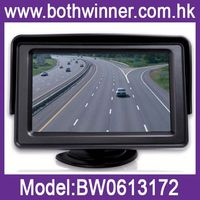 BW411 car rearview mirror monitor with dvr