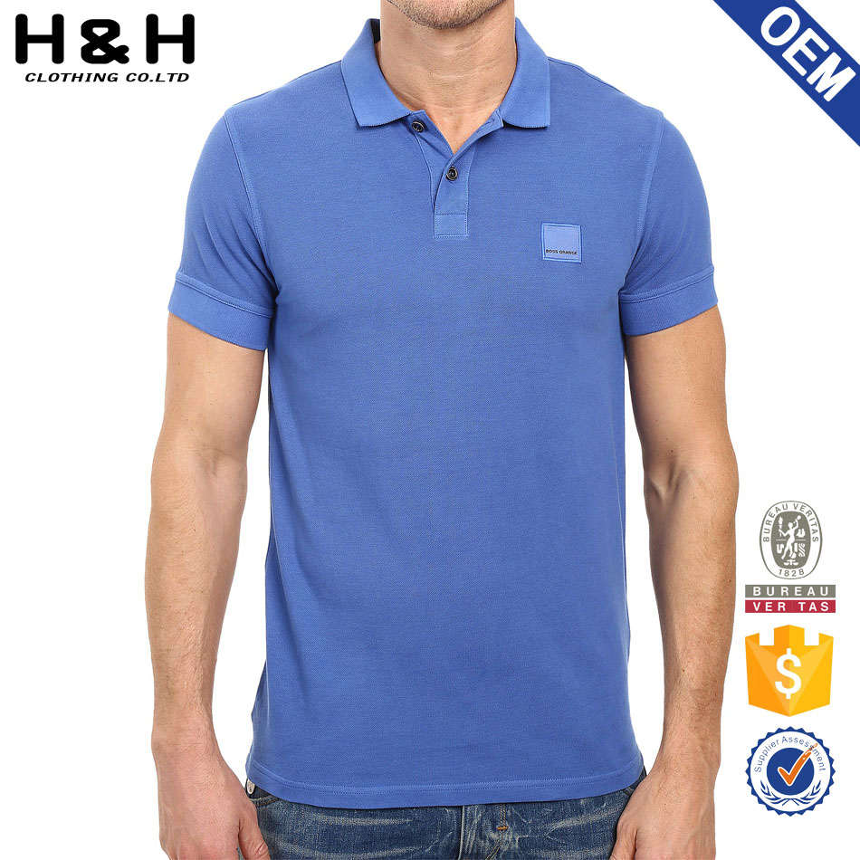 office polo shirt blue shirt for men wear outdoor