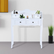Beauty hot comfortable white vanity makeup table simple dressing table designs