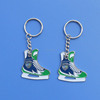 custom hockey metals keychains